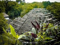 Acrópolis Norte Yaxhá foto por Neels Melendez de True Memories - Fotos de Construcciones de los Mayas y sus Descendientes