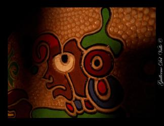 Arte maya, ¡excelente creatividad y talento! Fotografía de Guillermo del Valle