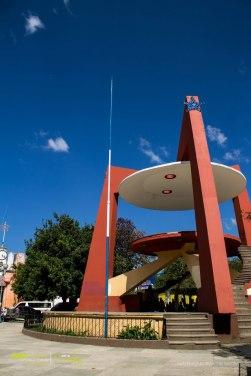 El kiosco del Parque Central de Cobán foto por Diego Gutierrez de Entre Amates - El Origen de Cobán, Ciudad Imperial