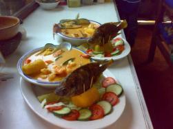 El tapadp de Livingston platillo garifuna foto por restaurante Bocabarra. - Livingston, hogar garífuna en Guatemala