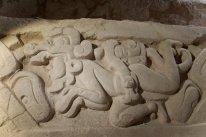Murales en el Mirador, data de la era antes de Cristo
