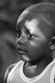 Rostro Garifuna foto por Carlos Zaparolli. - Galería - fotos de rostros en Guatemala