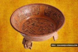 Vasija Maya foto por Maynor Marino Mijangos. - Galería - Fotos del Arte Maya