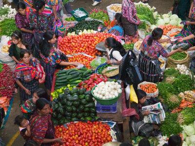 chichicastenango 1 - El mercado de Chichicastenango - un destino multicolore