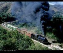 ferro 1 Victor Pensamiento maquina negra - La historia del ferrocarril en Guatemala
