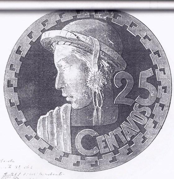 moneda1 - El Origen de la Moneda de 25 Centavos de Guatemala