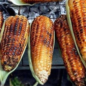 Elotes asados foto por Maribel Garcia Gutierrez - Galería - Fotos de la Gastronomía Guatemalteca