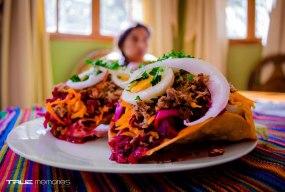 Enchiladas donde el color y la tradición se funden foto por True Memories photography - Galería - Fotos de la Gastronomía Guatemalteca