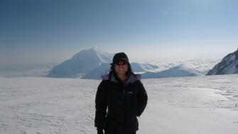 Guatemala en el centenario del descubrimiento del Polo Sur. Fotografía Andrea Cardona. - Andrea Cardona, alpinista