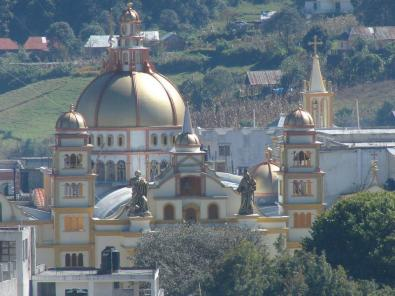 Iglesia catolica de Soloma - foto por Oscar Alonzo
