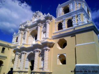 La Merced en Antigua Guatemala foto por Estuardo de la Cruz - Galería - Fotos de La Antigua Guatemala