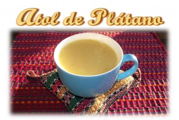 Atol de Platano - foto por Video Recetas Chapinas