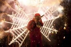 Danza de El Torito en el Festival Folklórico Nacional de Cobán Alta Verapaz durante la elección de la Rabín Ajaw. - La Tradición de la Quema del Torito