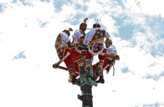 Palo volador serturista com - La Tradición del Palo Volador