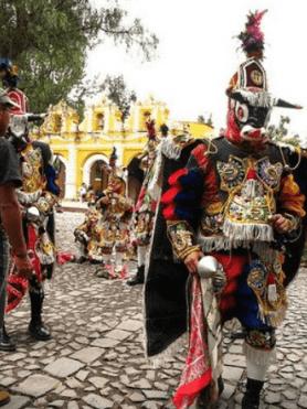 el baile del torito por memoriasdeunviajero.blogspot com - La Tradición de La Danza del Torito