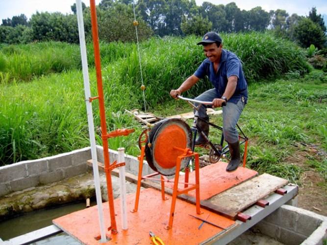 Las Bicimáquinas de Maya Pedal