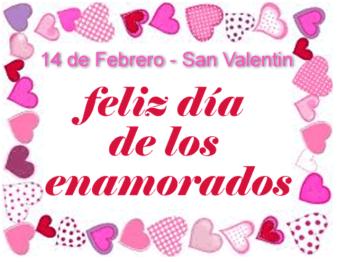 14 de febrero arte grafico - El Día del Cariño para Enamorados, Amigos y Familia