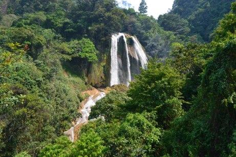 Catarata de Santa Avelina Cotzal Nebaj El Quiché foto por Emmanuel Santiago - El departamento de Quiché