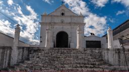 Iglesia de El Calvario en Chichicastenango Quiché foto por Maynor Marino Mijangos - La ciudad de Chichicastenango