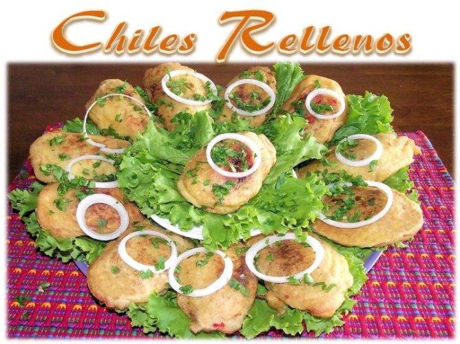 Video Por Recetas Chapinas y Más – Chiles Rellenos