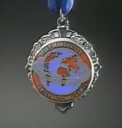 Medalla del campeon guatemalteco Jose Rolando de Leon