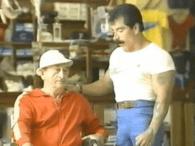 Jose Rolando de Leon con su mentor