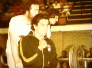 El campeon guatemalteco, Jose Rolando de Leon, listo para competir