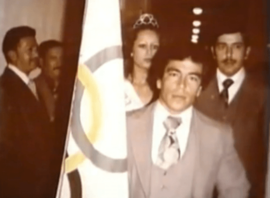 Jose Rolando de Leon poniendo el nombre de Guatemala en alto.