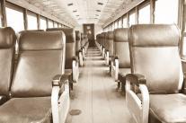 Asi lucia el vagon de primera clase del ferrocarril guatemalteco foto por Rodrigo Motta - Galería – Fotos del Ferrocarril de Antaño en Guatemala