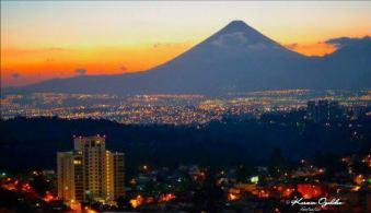 Ciudad de Guatemala vista desde la Pradera - foto por Kerwin Ogaldez