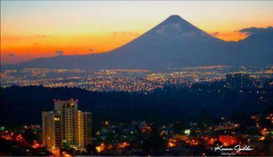 Ciudad de Guatemala vista desde la Pradera foto por Kerwin Ogaldez - Galería – Fotos de la Ciudad de Guatemala