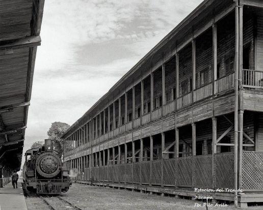 Estación de Tren en Zacapa foto por Pilo Avila - Galería – Fotos del Ferrocarril de Antaño en Guatemala