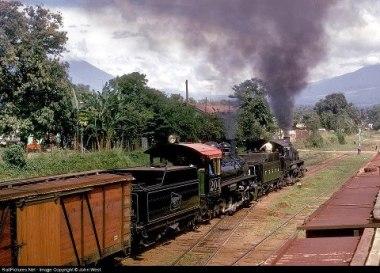 Estacion de tren en Escuintla foto por Sergio Molina - Galería – Fotos del Ferrocarril de Antaño en Guatemala