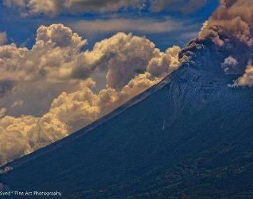 Volcan de Fuego HOY foto por Waseem Syed. - Galería – Fotos de la Erupción del Volcán de Fuego, Septiembre 13, 2012