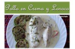 Video Por Recetas Chapinas y Más – Pollo en Crema y Loroco