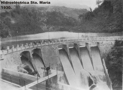 Hidroeléctrica Santa María. Esta central se ubica en el municipio de Zunil departamento de Quetzaltenango en 1927. - Galería – Fotos de Guatemala de Antaño