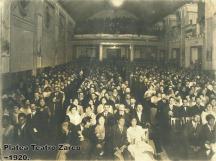 Interior del Teatro Zarco en 1920 por Jorge Perez - Galería – Fotos de Guatemala de Antaño