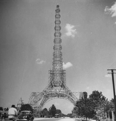 La Torre del Reformador en 1945 foto de Juan Arturo Pérez - Galería – Fotos de Guatemala de Antaño