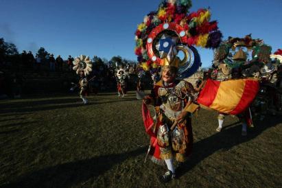 Baktun 13 en Iximche Chimaltenango foto por la pagina dle presidente Otto Perez - Galería – Fotos de la Celebración del Baktún 13, Guatemala 2012