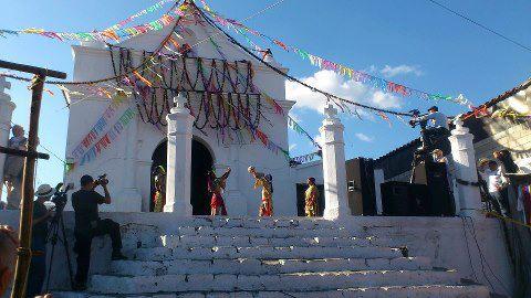 Baktun 13 juego de pelota Maya foto por pagina Chichicastenango - Galería – Fotos de la Celebración del Baktún 13, Guatemala 2012
