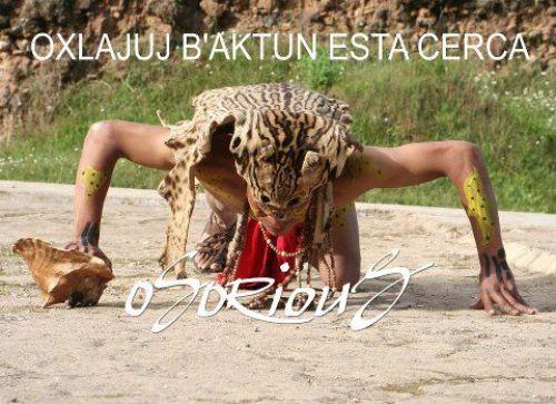 Baktun 13, personaje Maya jaguar Maya - foto por Avelino Osorious