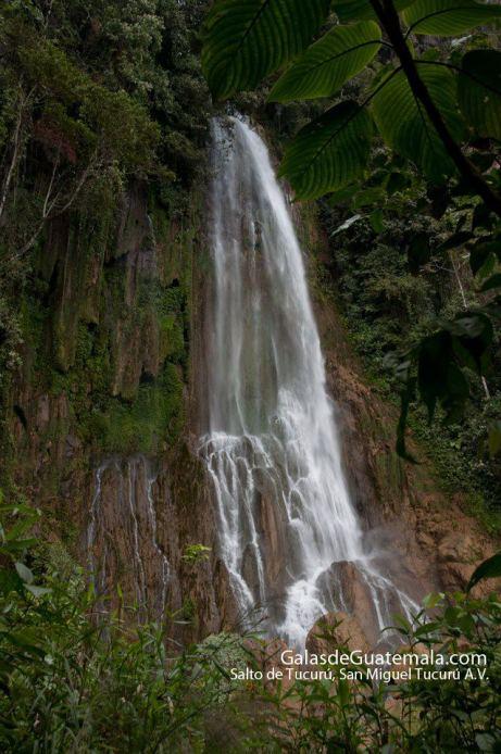 Cascada de Tucurú en San Miguel Tucurú, Alta Veravez - oto por Maynor Marino Mijangos