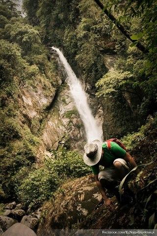 Cascada escondida en la montaña en El Porvenir San Marcos foto por El Nash - Galería - Fotos de Cataratas y Cascadas en Guatemala