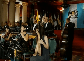 Video Musical – Marimba de Concierto Palacio Nacional Interpretando, Luna de Xelajú