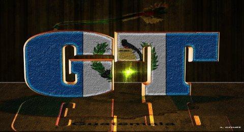 Arte gráfico de Guatemala GT composición por Alex Gomez - Galería - Arte Gráfico de Temas de Guatemala