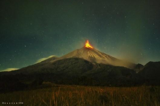 Volcan de Fuego 02 19 2013 Waseem Syed e1366400119263 - Galeria - Fotos de Guatemala por Waseem Syed