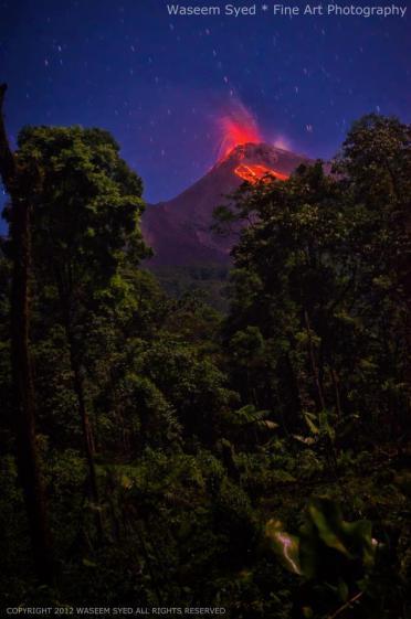 Volcan de Fuego foto por Waseem Syed - Galeria - Fotos de Guatemala por Waseem Syed