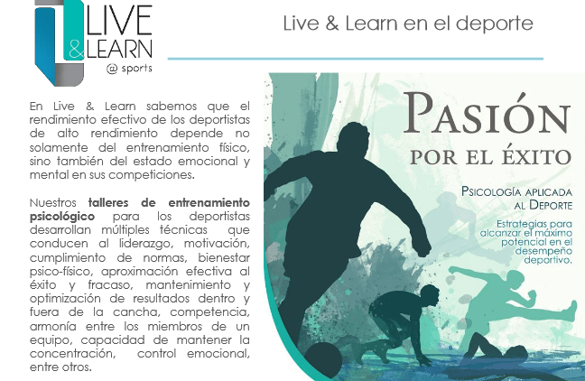 live and learn - pasion