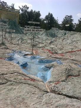 11c - Guía Turística – Mapa en Relieve de Guatemala