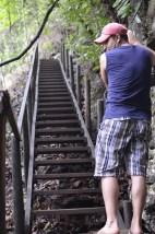 Inicio del ascenso al Mirador de Semuc Champey - Guía Turística - Semúc Champey, Alta Verapaz